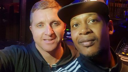 Steve Cates and Antwonne Smith Picture: STARS OF SUFFOLK