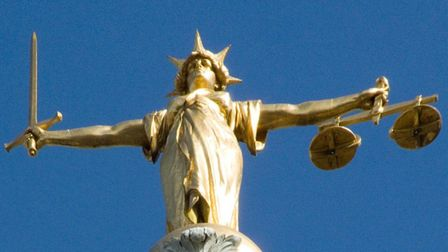 The statue of Lady Justice on the roof of the Old Bailey in London. 'Those accused of serious crimes