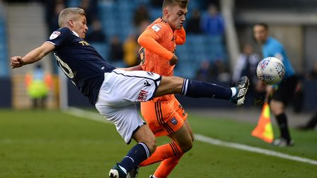 He then played again at Millwall. Picture Pagepix