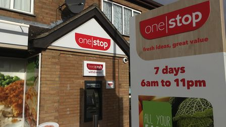 The two staff are staff at the One Stop shop, on the corner of Woodrows Lane and St John's Street. P