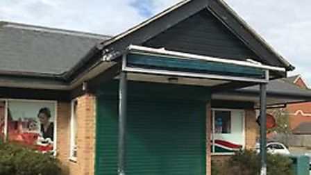 The Rendlesham village store which unexpectedly closed last month Picture: LOUISE HOPES