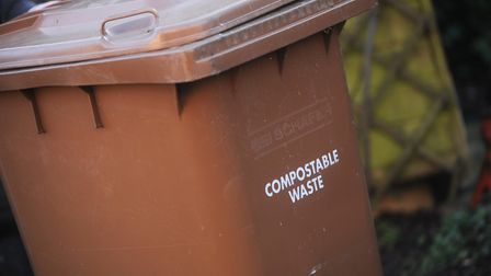 Brown bin charges in West Suffolk may increase from �40 to �43 annually Picture: GREGG BROWN