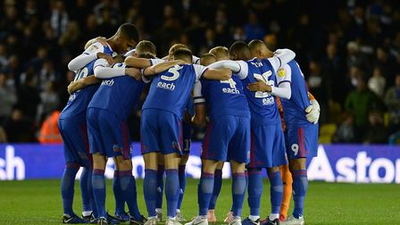 Paul Lambert says his Ipswich Town squad needs help in January. Picture Pagepix