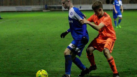 Thomas Hughes played for Bury Town Picture: ROSS HALLS