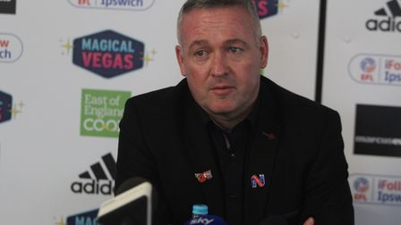 Paul Lambert will speak to the media this lunchtime. Picture: ROSS HALLS