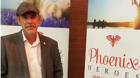 Gary Stockton has launched a project in Colchester to help veterans suffering with PTSD Picture: PHO