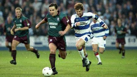 Geriant Williams opened the scoring for Town as they won 4-1 at Reading in 1995
