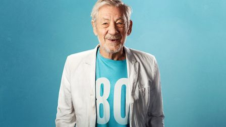 Sir Ian McKellen who is celebrating his 80th birthday by touring the nation's regional theatres incl