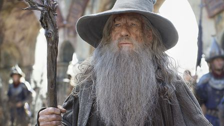 The Hobbit: The Battle Of The Five Armies. Pictured: Ian McKellen as Gandalf. PA Photo/Warner Bros.