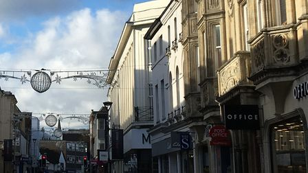 Ipswich town centre Picture: SUZANNE DAY
