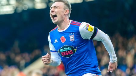 Delight on the face of Freddie Sears after his goal against Preston. Photo: Steve Waller
