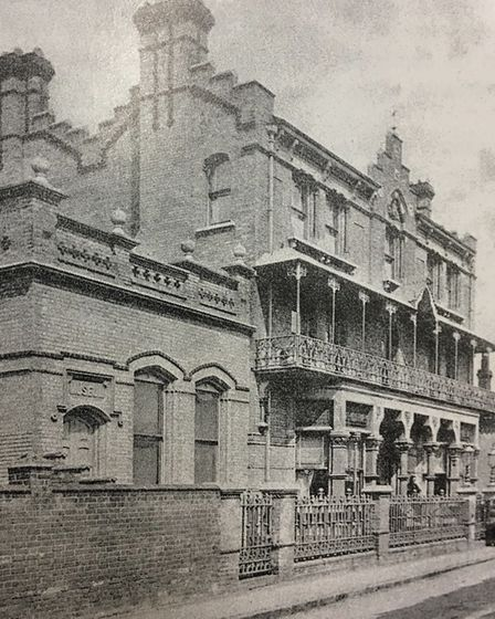 Eaton House in Aldeburgh, where the school was briefly based Picture: Orwell Park School