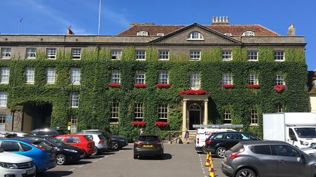 The Angel Hotel in Bury St Edmunds Picture: MICHAEL STEWARD