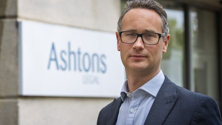 Stefan Mitham, Ashtons Legal business development and sales manager Picture: DAVE RICHARDSON
