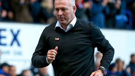 Ipswich Town manager Paul Lambert believes the squad is unbalanced. Picture: STEVE WALLER WWW