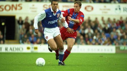 Andre is the son of former Ipswich and Tottenham star Jason Dozzell. Picture: ARCHANT