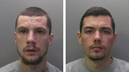 Tony Smith, 19, from Willingham, Cambridgeshire, and Charlie Oakley, 26, of Shefford, Bedfordshire,