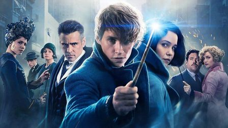 Colin Farrell was part of the cast of the first Fantastic Beasts movie Photo: Warner Bros