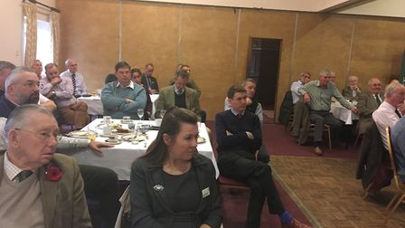 Members at the NFU Suffolk branch AGM Picture: SARAH CHAMBERS