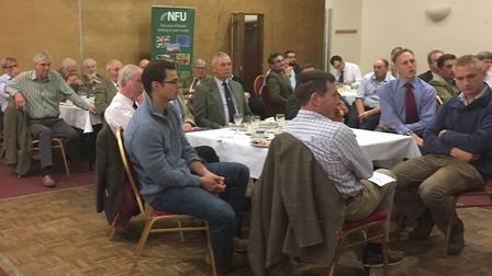 NFU Suffolk branch AGM Picture: SARAH CHAMBERS