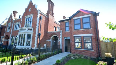 A new three-bedroom home at The Follies, Felixstowe Road, part of a pub conversion. Picture: FENN WR