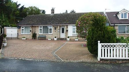 This four-bedroom bungalow in Brandon has an asking price of £315,000. Picture: ABBOTTS COUNTRYWIDE