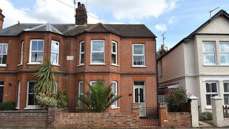This three/four-bedroom home in Sidegate Lane, Ipswich, has a guide price of �285,000. Picture: FENN