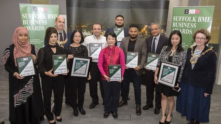 Suffolk BME Business Awards 2017 at the University of Suffolk Picture: ARCHANT