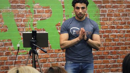 Personal trainer Loai Mahmoud of Re-Shape, is short-listed business in the Suffolk BME Awards 2018 P