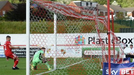 The one bright spot of last season's opening day visit to Accrington, Sammie Szmodics stabbing home