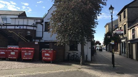 The horseshoe in Bury St Edmunds Picture: NEIL DIDSBURY