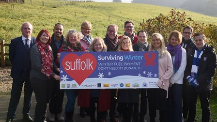 Organisations from all over the county at the launch of the Surviving Winter Campaign 2018 Pictur