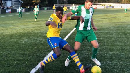 Basildon and AFC Sudbury battled out a 0-0 draw at King's Marsh Stadium