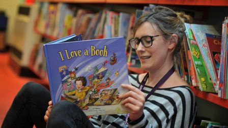 Suffolk Libraries is encouraging reading for wellbeing File picture: SARAH LUCY BROWN