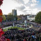 Colchester Garrison marks Remembrance Sunday Picture: CPL JAMIE HART/MOD