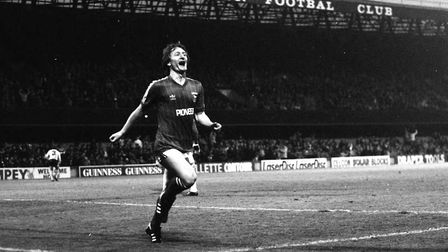 Eric Gates scored on this day in 1983