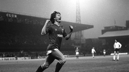 35 years ago today, Eric Gates scored in Town's 2-1 win over Arsenal at Portman Road