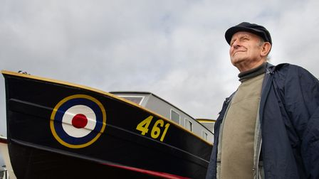Tony Rose has worked with boats for many years and this was a very special project Picture: SARAH L