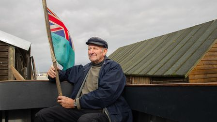 Tony Rose has restored a WWII rescue boat Picture: SARAH LUCY BROWN