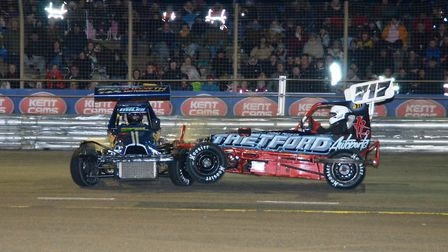 The Superstox again thrilled at Foxhall Photo: CHRIS BERRY
