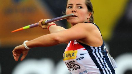 Team GB's Goldie Sayers, who is one of our inspirational women of Suffolk Picture: David Davies/PA