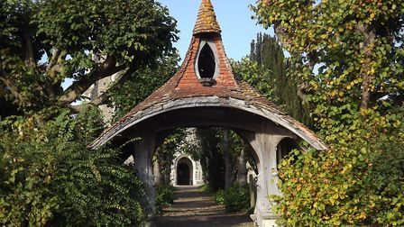 Kelsale Church's lychgate is among the structure of architectural interest Picture: KARREN DUTTON