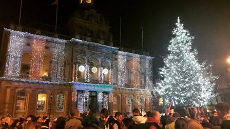 This year's Christmas will be the first on the new Cornhill. Will it give the town a boost? Picture: