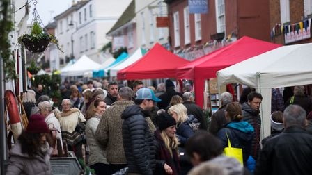 Woodbridge can pull in the crowds without free parking - the problem is often finding a space in the
