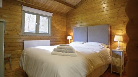 Do you fancy staying in a log cabin this Christmas? Picture: AIRBNB