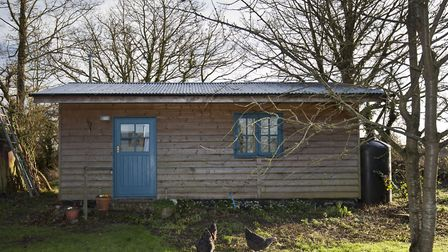 You could stay in the Peaceful Garden Cabin. Picture: AIRBNB