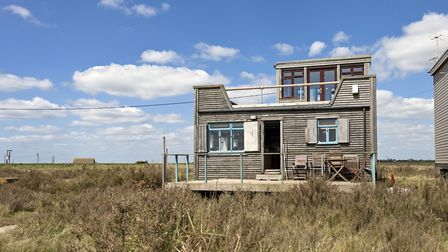 The beach house in Essex Picture: AIRBNB