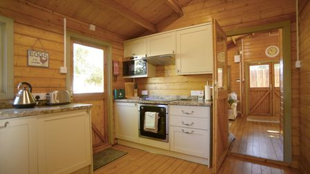 The Log Cabin in Guyhirn Picture: AIRBNB