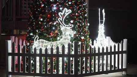 Christmas lights in Bury St Edmunds. Picture: GREGG BROWN