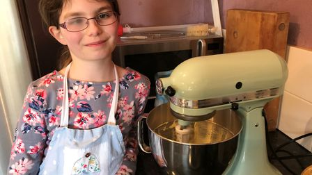 Young baker Lizzie Bramall who has an inoperable brain tumor has penned a book of her favourite reci